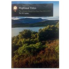 Plan quinquennal Highland Titles