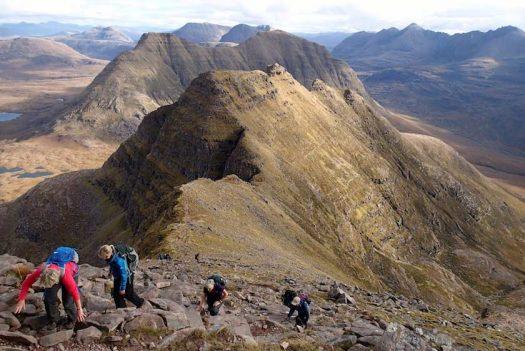 La Randonnée en Montagne dans les Highlands