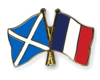 Pin's Ecosse/France
