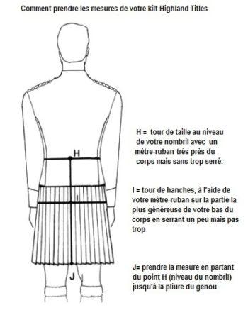 Kilt traditionnel