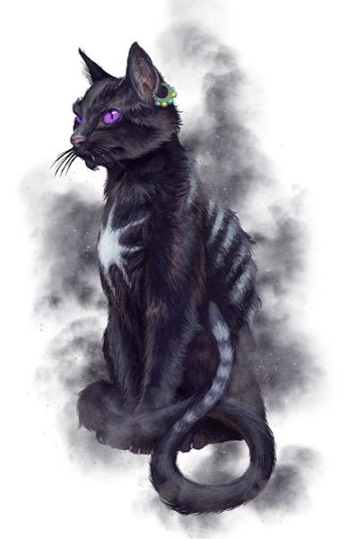 Selon la légende, le fantomatique Cat Sìth hante les Highlands écossais